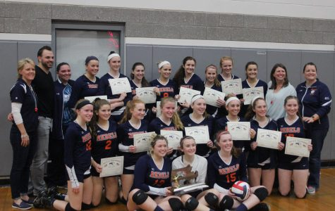 Gallery: Walpole Girls Volleyball Competes for South Sectional Championship