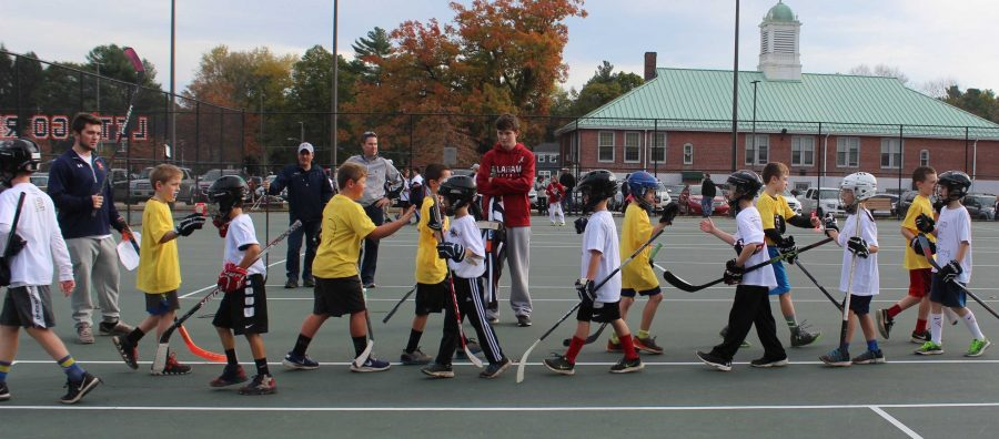 Boys Hockey Holds Street Hockey Tournament for Tommy Quinn Scholarship Foundation