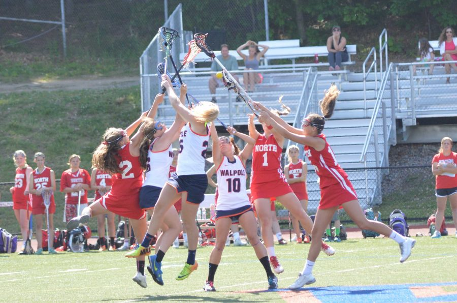 Rebels battle North Attleboro for a draw to start the second half of Thursday's DII East quarterfinal game.