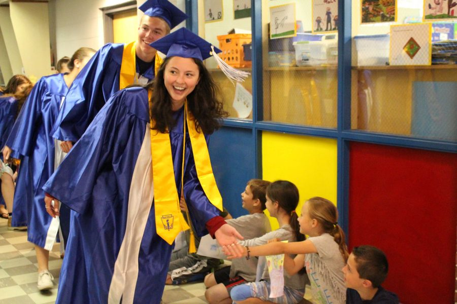 Gallery: Class of 2016 Visits Old Post Road Elementary School