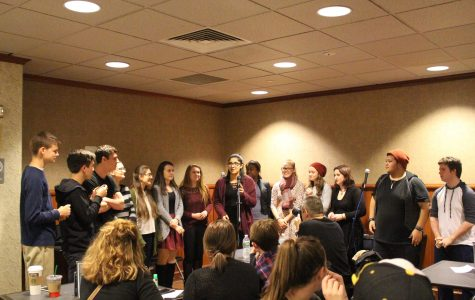 Gallery: Walpole High Students Participate in The Poetry Reading