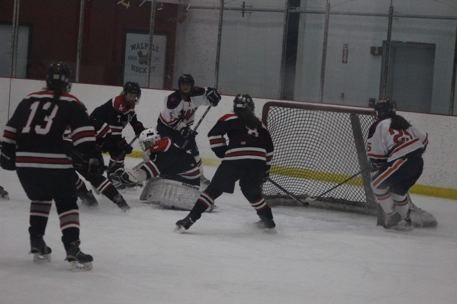 Girls Hockey Defeats Wellesley for First Time since 2012