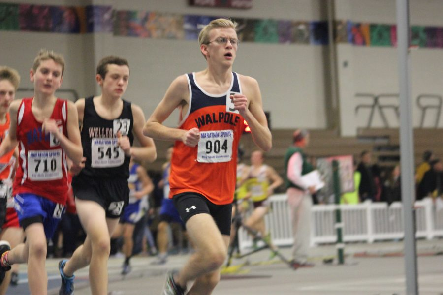 Boys Track (1-1) Loses to Wellesley Powerhouse
