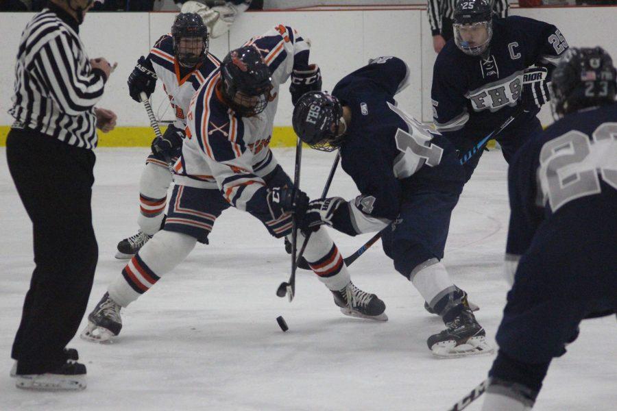Boys Hockey ties Framingham Flyers, 2-2