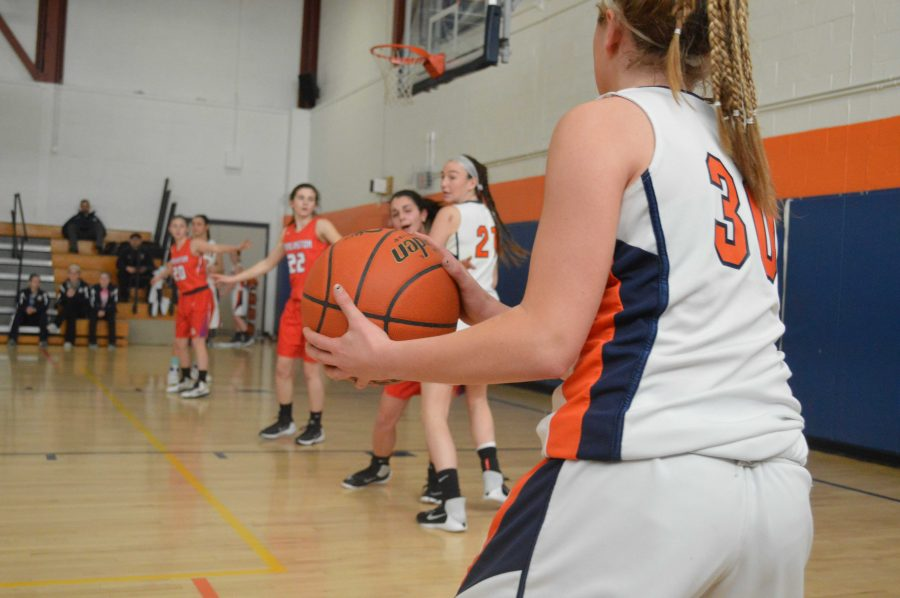 Gallery: Walpole Girls Basketball Defeats Burlington 56-40