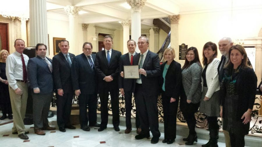 OPR Attends Ceremony at State House to Receive Academic Awards
