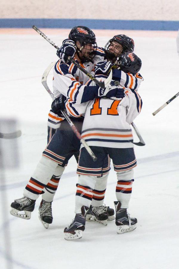 Boys Hockey Makes History