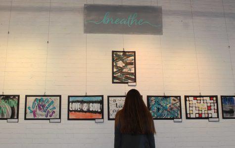 SheBreathes Displays Student Artwork