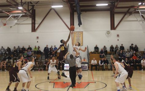Boys Basketball Loses 82-75 in Overtime to Sharon