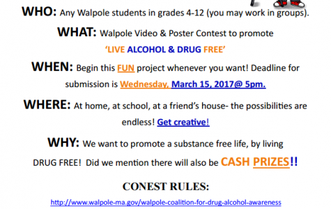 Video and Poster Contest Promotes Awareness for Drug and Alcohol Abuse
