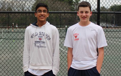 Boys Tennis Battles for State Tournament Berth