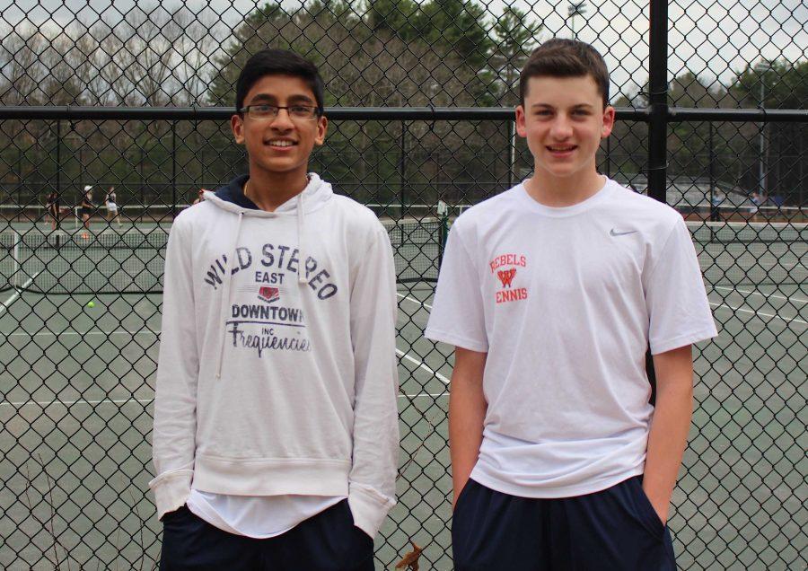 Boys Tennis Battles for State Tournament Berth