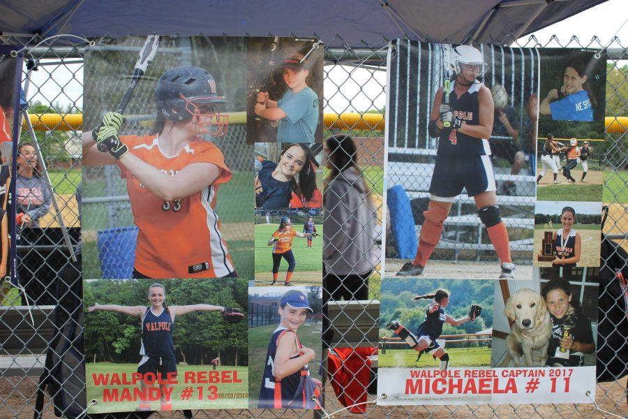 Walpole Girls Varsity Softball Loses to Newton North 7-4