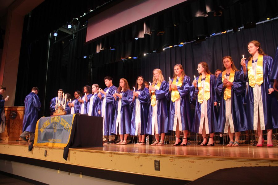 National Honor Society Inducts Junior Class Members