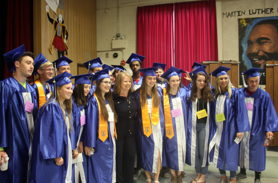 Student Council Holds Second Annual Senior Walk
