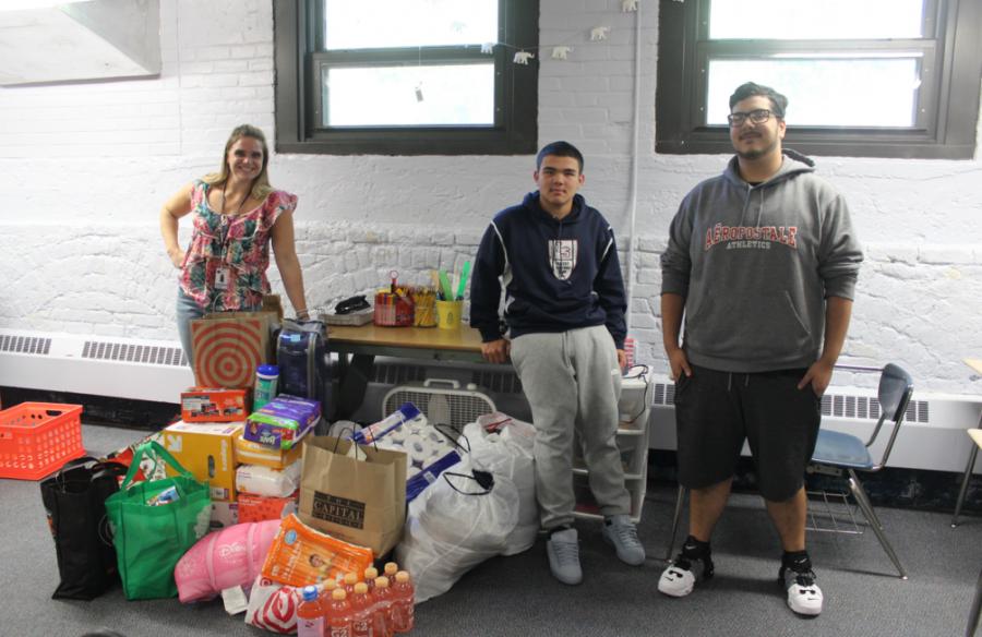 Community Organizes Drive for Hurricane Victims
