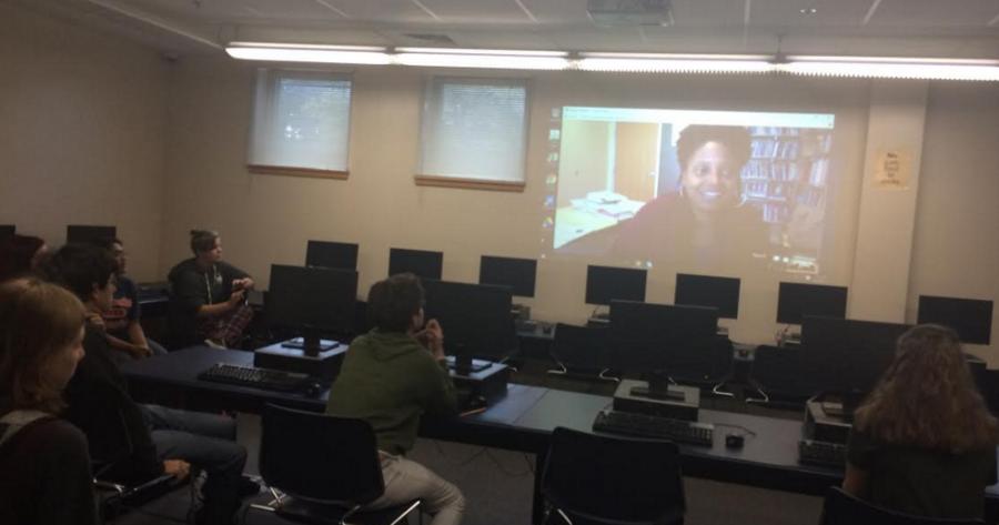 Pulitzer Prize Winner Talks to Walpole High Students
