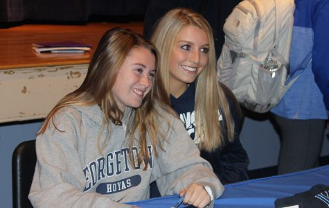 Walsh Signs National Letter of Intent to Georgetown University