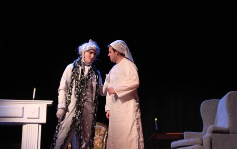 Riley Mulroy Takes Center Stage as Scrooge in