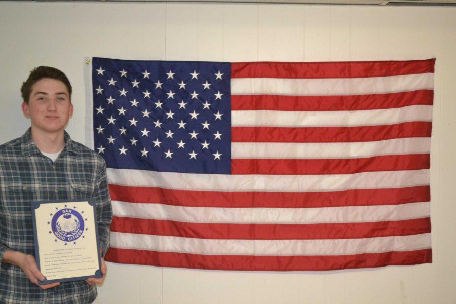 Breen Receives Walpole's Good Citizen Award