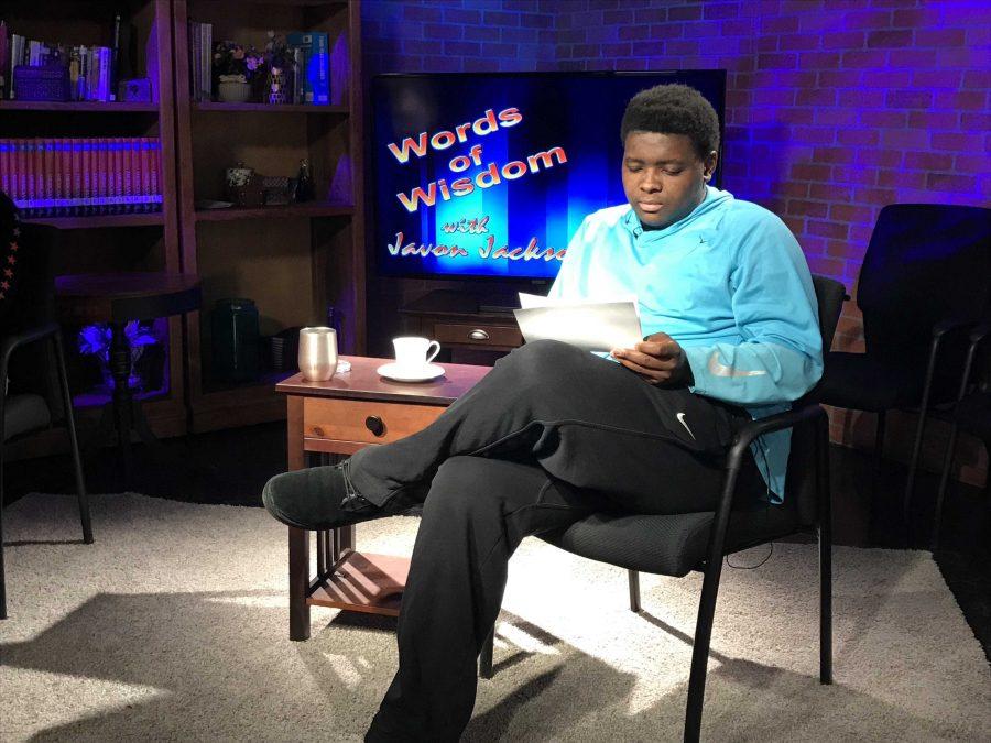 Javon Jackson Spreads Positivity with Words of Wisdom