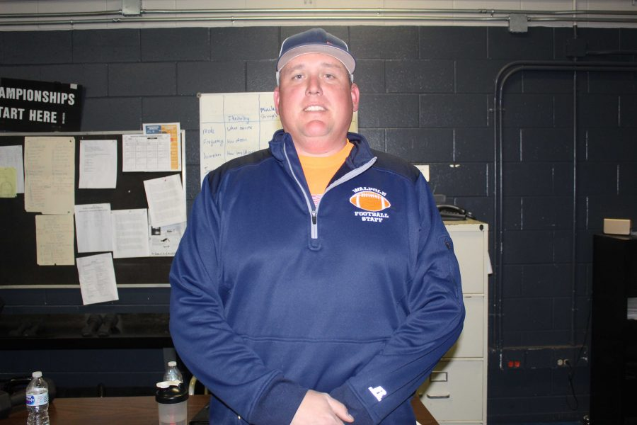 New Walpole Football Coach Chris Sullivan Gets Straight to Work