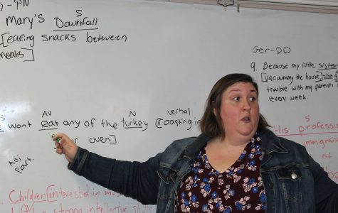 Katharine Plato Concludes Her Student Teaching Experience at Walpole High