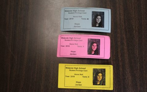 Privilege Cards at Walpole High School Should be Based on Effort
