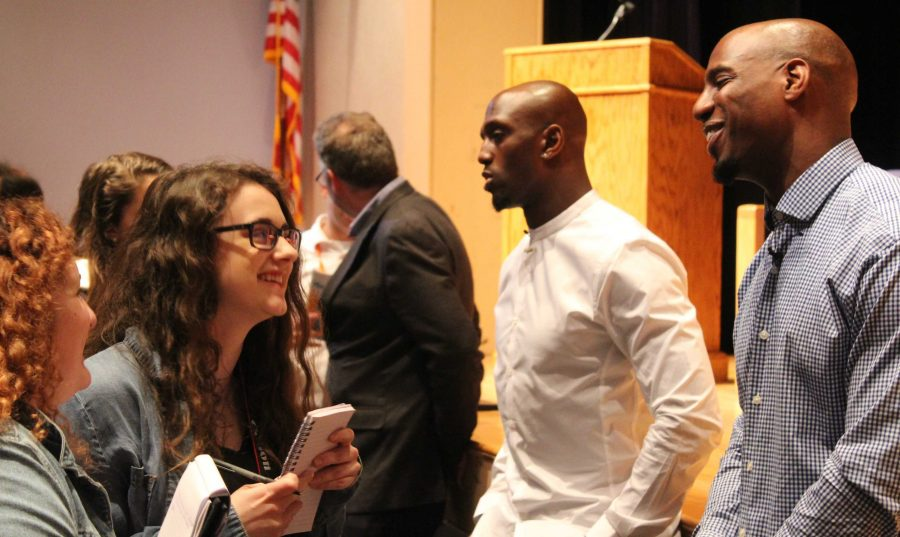 Kraft, McCourty, Harmon and Others Host Journalist Panel