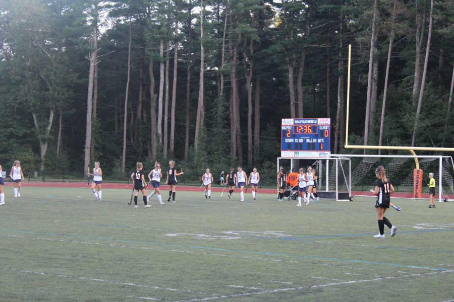 Field Hockey Defeats Newton North Tigers in Home Opener