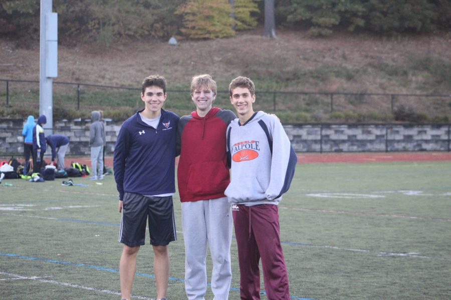 Boys Cross Country Sweeps Weymouth