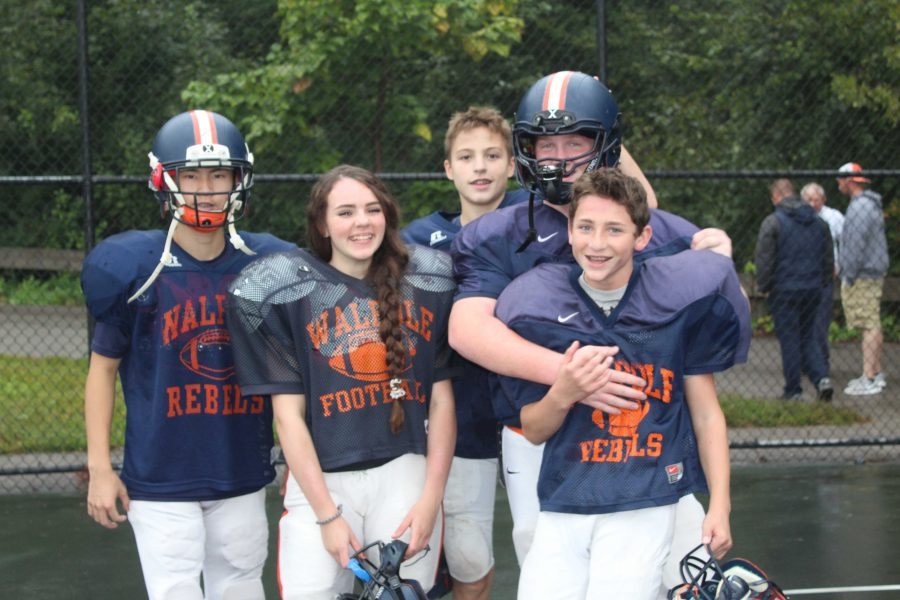 Female Athlete Makes Football Team for the First Time