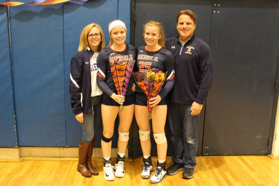 Rae Twins Finish Their Monumental Careers With Walpole High School's Volleyball Program