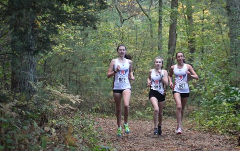 Girls XC Closes the Dual Meet Season with a Win