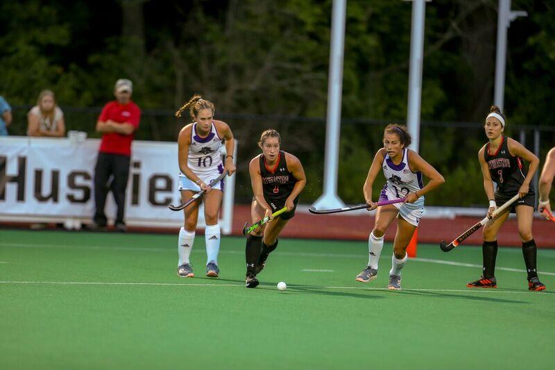 Melanie Weber Adjusts to Field Hockey at Northeastern University