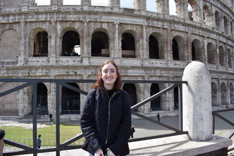 LoRusso took a trip to Rome while studying abroad in Spain last spring.