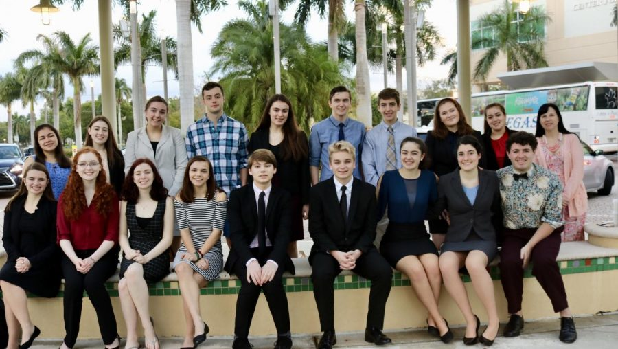 Speech Team Attends Florida Tournament