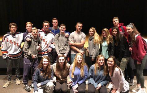Hallway Talk: Christian Maki's Visit to Walpole High