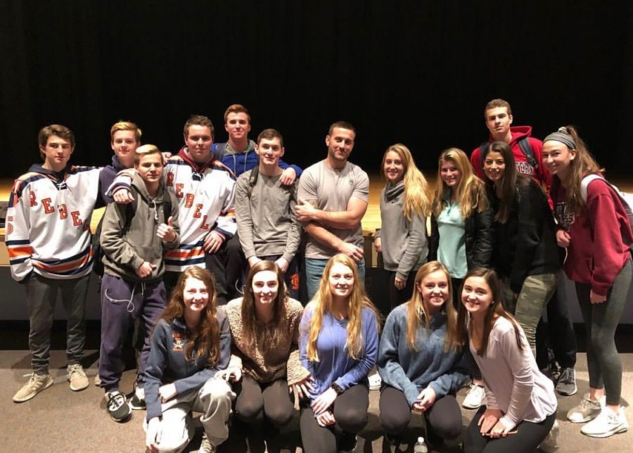 Hallway Talk: Christian Maki's Visit to Walpole High