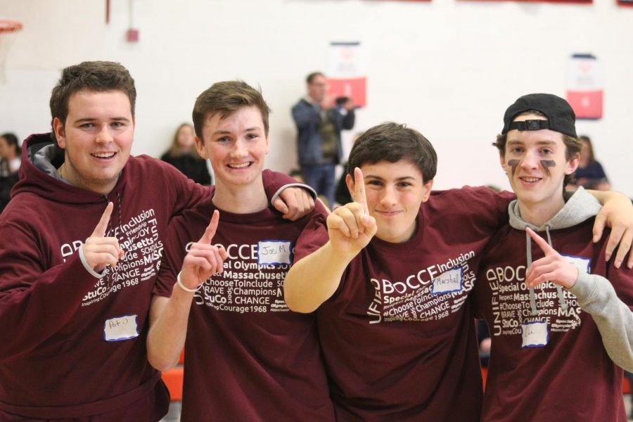 Walpole High School Student Council hosts Bocce Tournament