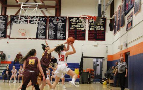 Walpole Girls Basketball Defeats Braintree
