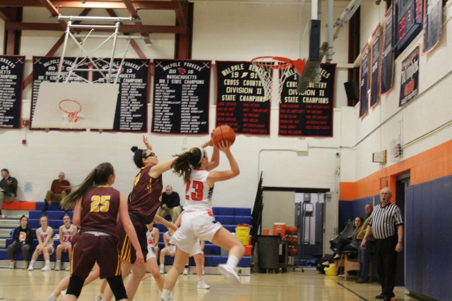 Gallery: Girls Basketball Defeats Weymouth, 54-50