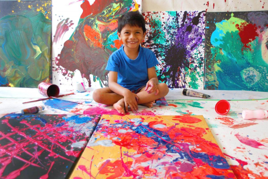 The Youngest Artists with the Biggest Talents in Painting, Poetry and Music