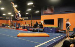 Gallery: Walpole Gymnastics Falls to Natick on their Senior Night