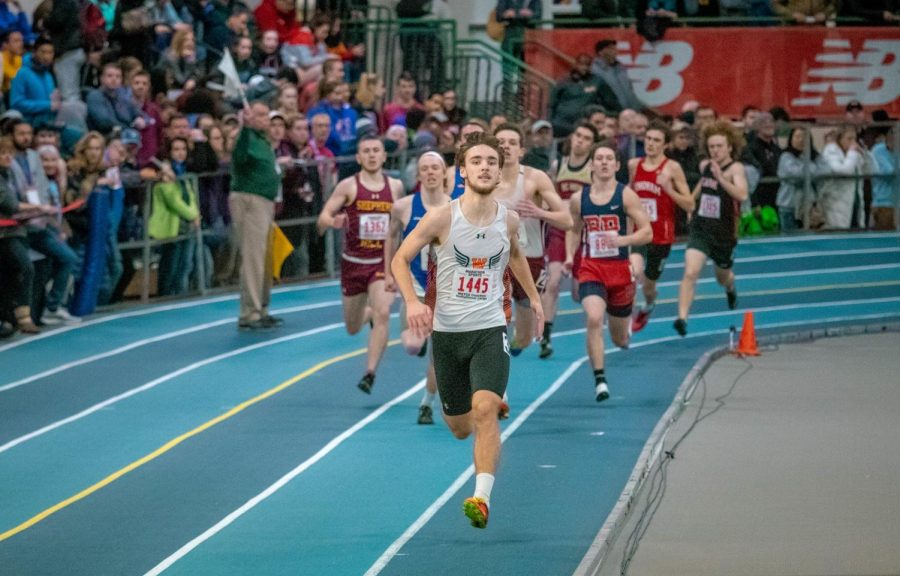 Boys and Girls Indoor Track Shatter School Records