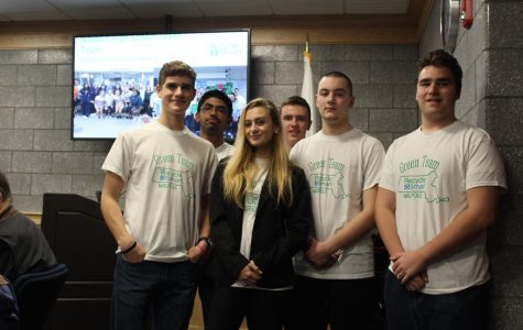 Green Team Meets With School Committee to Discuss Recycling Habits
