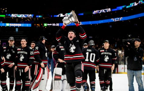 Lincoln Griffin Contributes to Northeastern Beanpot Championship