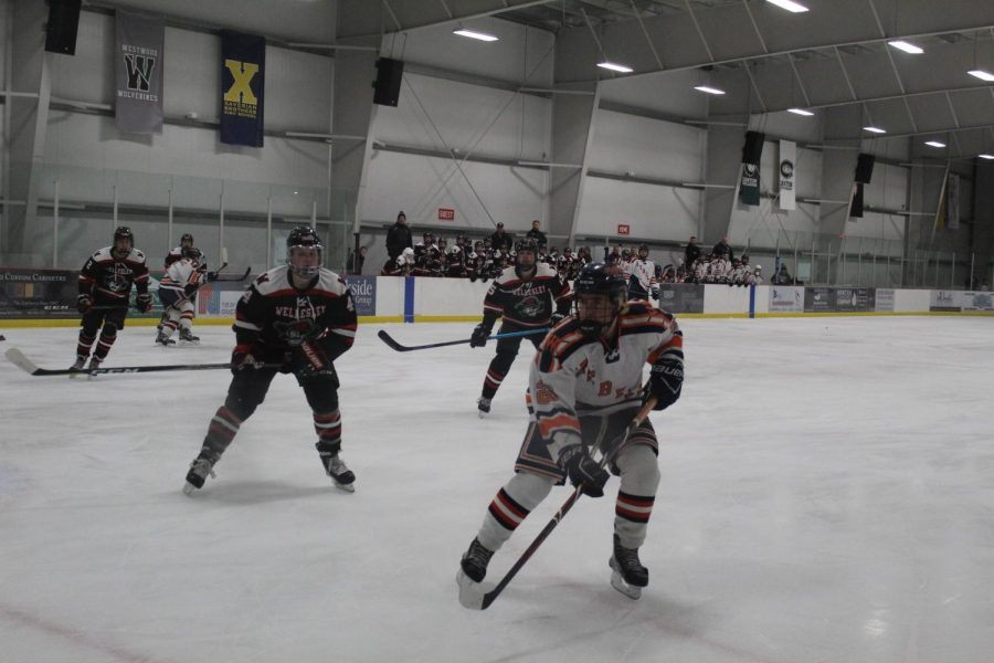 Boys Hockey Falls to Wellesley in First Round of Tournament