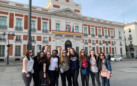 Walpole High Students Visit Spain
