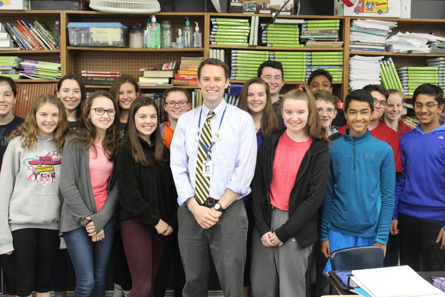 Both William Hahn and JMS' eighth graders will be completing their JMS careers this June.